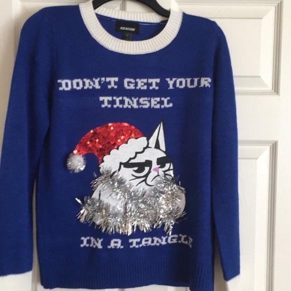 Grumpy Cat Ugly Christmas Sweater.Grumpy Cat Ugly Christmas Sweater